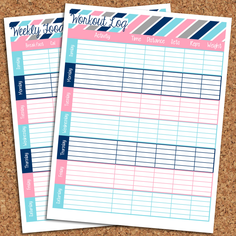 Organized Printables :: Health & Fitness Printables ...